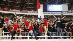 Indosport - Suporter Timnas Indonesia U-23 siap mendukung habis-habisan Garuda Muda di final sepak bola SEA Games 2019 kontra Vietnam.