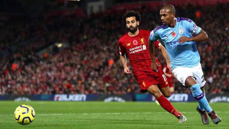 Liverpool vs Manchester City jadi laga big match di Liga Inggris pekan ini. - INDOSPORT