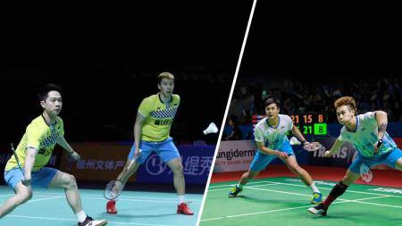 Kevin/Marcus vs Lu Ching-yao/Yang Po-han - INDOSPORT