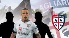 Indosport - Termasuk putra batak, 3 pemain Cagliari yang bersinar bawa Cagliari ke papan atas Serie A Italia