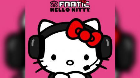 Fnatic eSports menggandeng Hello Kity dalam kerja sama mereka. - INDOSPORT