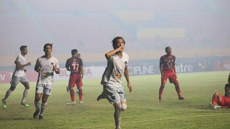 4 Fakta prestisius hadir ketika Persik Kediri sukses kandaskan Persita Tangerang, 2-3 di pertandingan final Liga 2 2019, Senin (25/11/19). - INDOSPORT