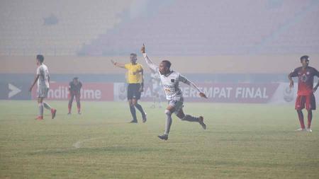 Persita Tangerang sukses melewati laga perdana Grup B babak 8 besar Liga 2 2019 dengan kemenangan atas Martapura FC. - INDOSPORT