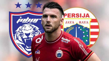 Marko Simic mungkin saja akan meninggalkan Persija Jakarta musim depan, terutama bila melihat kebiasaan top skor Liga 1 selama ini. - INDOSPORT