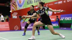 Indosport - Ni Ketut Mahadewi Istarani/Tania Oktaviani gagal balas dendam melawan wakil Korea Selatan usai dikalahkan di babak lanjutan Hong Kong Open 2019.