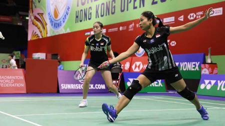 Ni Ketut Mahadewi Istarani/Tania Oktaviani Kusumah berhasil melewati babak kualifikasi Hong Kong Open 2019 - INDOSPORT