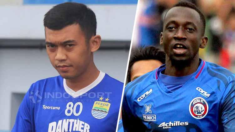 Abdul Aziz vs Makan Konate Copyright: INDOSPORT/Istimewa