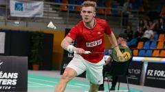 Indosport - Victor Svendsen, wakil Denmark dari sektor tunggal putra