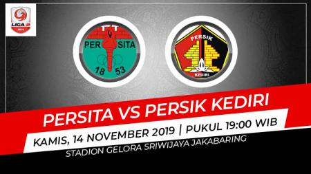 Hasil babak 8 besar Liga 2 antara Persita Tangerang vs Persik Kediri - INDOSPORT
