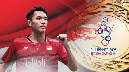 Inilah daftar skuat resmi Indonesia di cabang olahraga bulutangkis SEA Games 2019 yang akan mulai bergulir Minggu (1/12/19) besok hari. - INDOSPORT