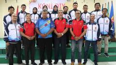 Indosport - Tim Aeromodeling DIY dilepas menuju babak kualifikasi Pra-PON 2020.