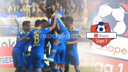 Persib Bandung salah satu klub Liga 1 yang mendapat denda besar dari Komdis PSSI. - INDOSPORT