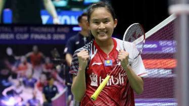 Kesuksesan pebulutangkis Ruselli Hartawan mengalahkan wakil Korea Selatan, An Se-young di babak kedua Hong Kong Open 2019 membuatnya mengukir rekor manis ini. - INDOSPORT