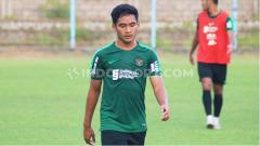 Indosport - Gelandang Bali United, Kadek Agung Widnyana Putra, berpotensi masuk skuat SEA Games 2019. Foto: Nofik Lukman Hakim