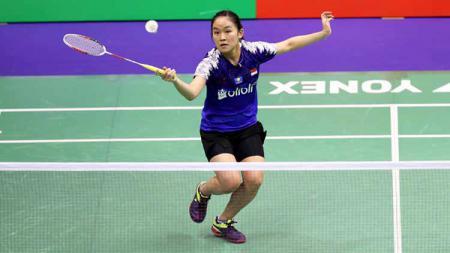 Pebulutangkis tunggal putri Indonesia, Ruselli Hartawan, mengungkapkan rahasia di balik keberhasilannya melaju ke babak perempatfinal Hong Kong Open 2019. - INDOSPORT