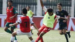 Indosport - Situasi pertandingan Garuda Select