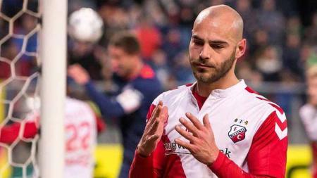 Ruud Boymans striker Jong FC Utrecht - INDOSPORT