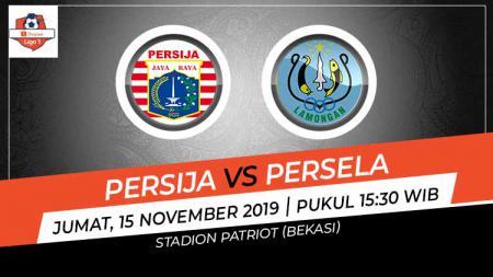 Pertandingan Liga 1 2019 antara Persija Jakarta vs Persela Lamongan. - INDOSPORT