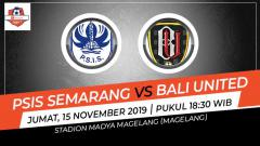 Indosport - Berikut prediksi pertandingan tunda antara PSIS Semarang vs Bali United kompetisi Shopee Liga 1 2019.