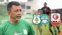 Indosport - Pelatih klub Liga 2 PSMS Medan Jafri Sastra jelang Kontra Martapura
