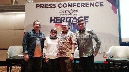 Metro Tv kembali menyelenggarakan Heritage Run 2019, ajang olahraga ini merupakan salah satu rangkaian event memperingati hari ulang tahun ke-19  Metro Tv. - INDOSPORT