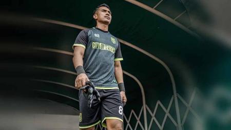 Mantan penjaga gawang Persib Bandung, Imam Arief Fadillah, membeberkan proses bergabungnya dengan PSIM Yogyakarta untuk persiapan mengarungi kompetisi Liga 2. - INDOSPORT