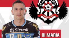 Indosport - Pemain futsal asal Brasil, Henrique Di Maria, dirumorkan merapat ke Black Steel Manokwari