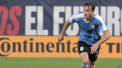 Indosport - Klub sepak bola Serie A Liga Italia, Inter Milan, kabarnya sedang menaruh minat kepada rekan senegara Luis Suarez, Matias Vina.