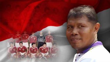 Toyo Haryono salah satu pemain di Timnas Indonesia di Sea Games 1991.
