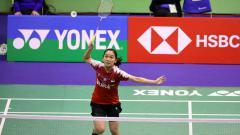 Indosport - Ruselli Hartawan melenggang ke perempatfinal Hong Kong Open 2019 usai mengalahkan An Se-young.
