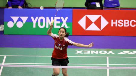 Ruselli Hartawan melenggang ke perempatfinal Hong Kong Open 2019 usai mengalahkan An Se-young. - INDOSPORT