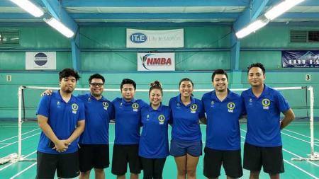 Tim bulutangkis Mariana Utara di Olimpiade Pasifik 2019. - INDOSPORT