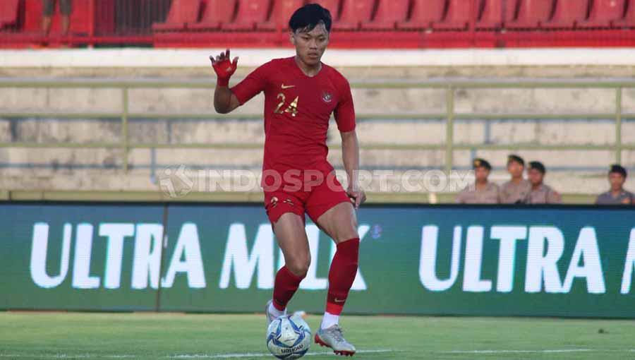 Winger Timnas Indonesia U-23, Feby Eka Putra. Copyright: Nofik Lukman Hakim/INDOSPORT