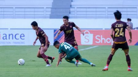 Lima pemain andalan PSM Makassar yang menjadi andalan sepanjang berlaga di tiga kompetisi di tahun 2019. - INDOSPORT