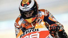 Indosport - Jorge Lorenzo saat balapan.