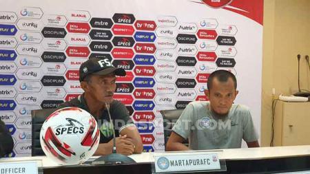 Setelah dikalahkan Mitra Kukar, Martapura FC memanfaatkan jeda Liga 2 untuk gelar evaluasi. - INDOSPORT