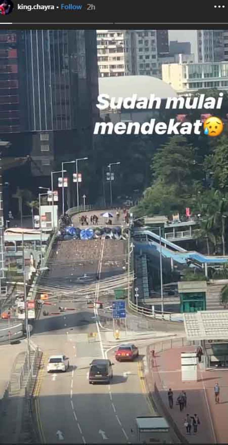 Pebulutangkis Indonesia, Mohammad Ahsan memberikan info terkait suasana di Hong Kong Copyright: Instagram Mohammad Ahsan