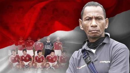Rochy Putiray salah satu pemain di Timnas Indonesia di SEA Games 1991. Foto: Ian Setiawan/INDOSPORT - INDOSPORT