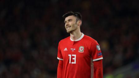 Kieffer Moore, bintang Timnas Wales yang nyaris putuskan pensiun dini dari sepak bola - INDOSPORT