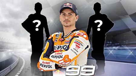 Dalam perjalanan kariernya yang luar biasa di MotoGP, Jorge Lorenzo memiliki kisah rivalitas yang legendaris dengan pembalap-pembalap MotoGP lainnya. - INDOSPORT