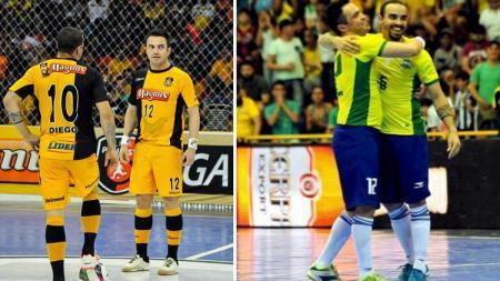 Pemain futsal asal Brasil, Diego Rodrigo Fonseca de Menezes. - INDOSPORT