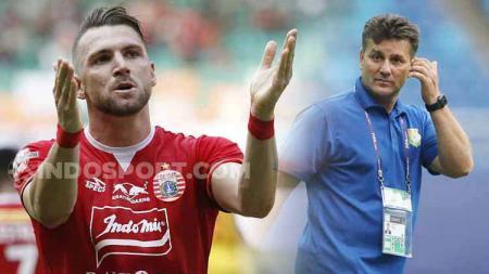 Puncaki top skor Liga 1, Marko Simic berpotensi pecahkan rekor legenda Bandung Asal Balkan, Dejan Gluscevic - INDOSPORT