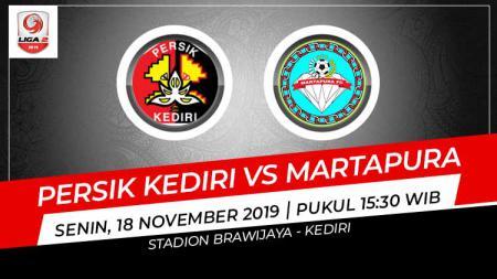Link Live Streaming Liga 2: Persik Kediri vs Martapura - INDOSPORT