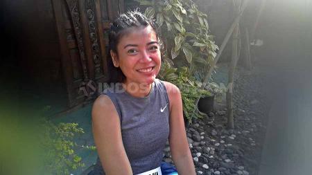 Ikut Friendship Run Borobudur Marathon 2019, si cantik Sigi Wimala rasakan sensasi berbeda. - INDOSPORT