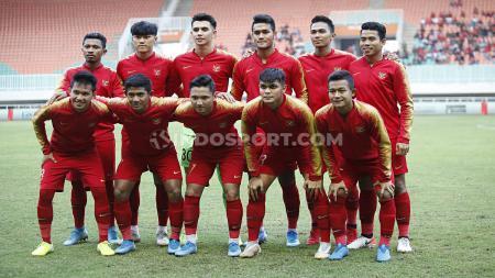 Skuat Timnas Indonesia U-23 yang berlaga di SEA Games 2019. - INDOSPORT
