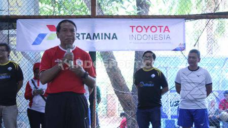 Menteri Pemuda dan Olahraga Republik Indonesia menyampaikan harapan kepada semua pihak untuk ikut menggelorakan semangat Piala Dunia U-20 2021. - INDOSPORT
