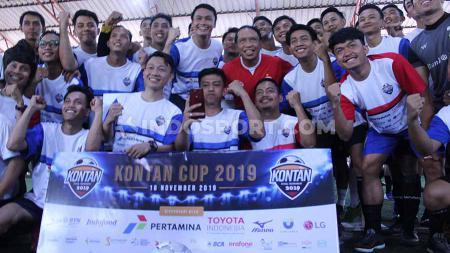 Menteri Pemuda dan Olahraga (Menpora) Republik Indonesia Zainudin Amali meriahkan satu dekade Kontan Cup. - INDOSPORT