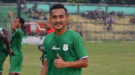 Pemain PSMS Medan, Yuda Risky Irawan. - INDOSPORT
