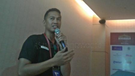 Race Director Borobudur Marathon 2019, Andreas Kansil, memastikan acara yang ditanganinya akan berlangsung lancar sampai selesai. - INDOSPORT