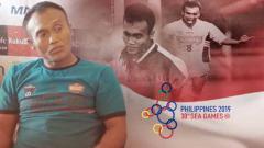 Indosport - Peri Sandria, legenda timnas Indonesia yang menjuarai SEA Games 1991.